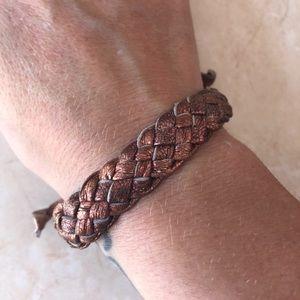 Gorgeous woven braided friendship bracelet